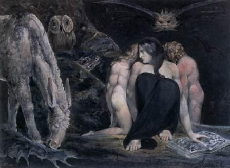 Hécate, The Night of Enitharmon's Joy William Blake, 1795